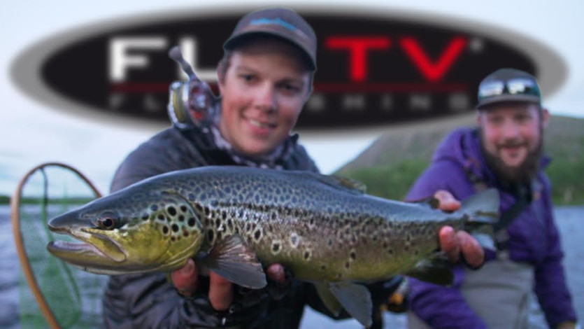 FLY TV - Trout Fly Fishing with Big Streamers