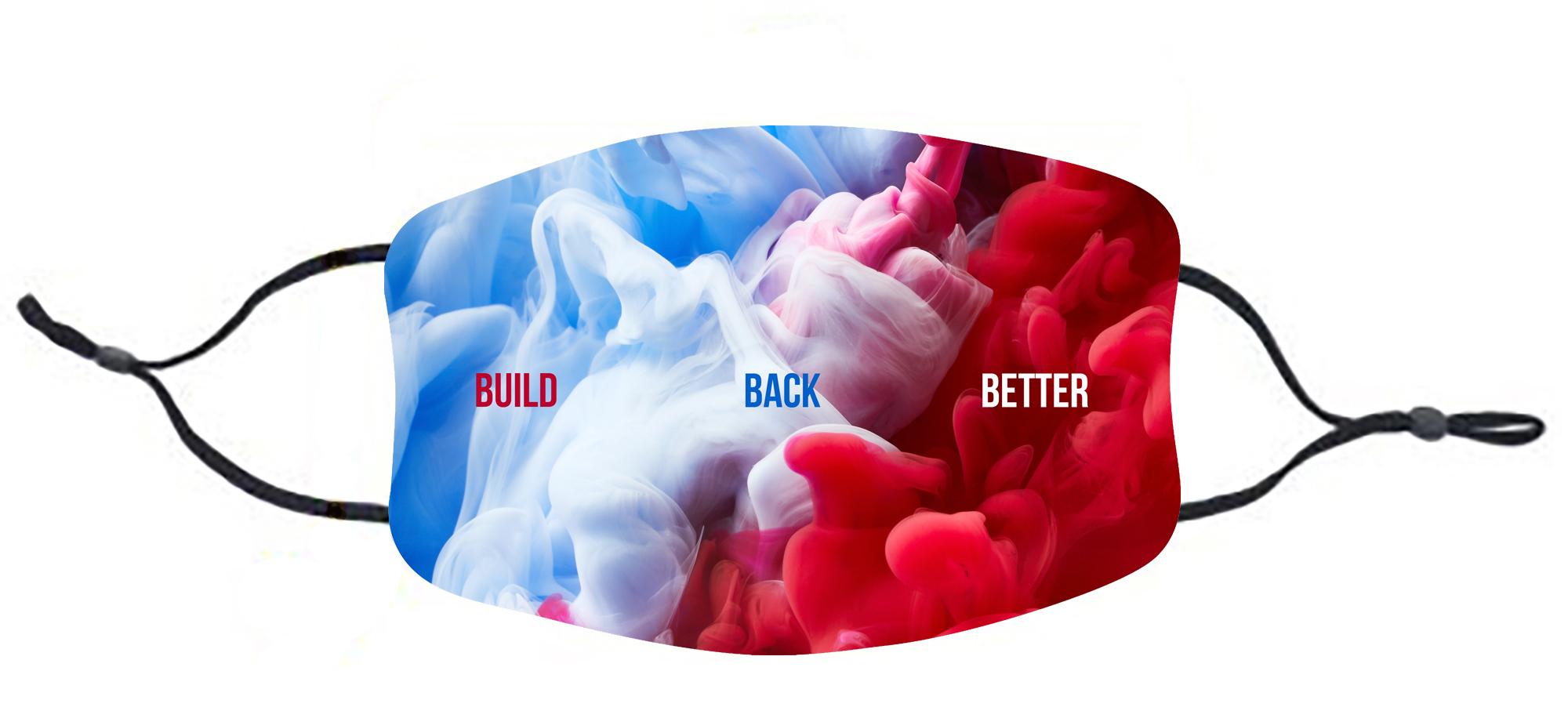 Biden Harris Build Back Better med no tr