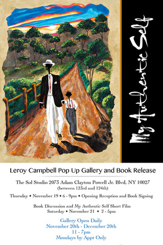 Pop Up Gallery and Book Release Event