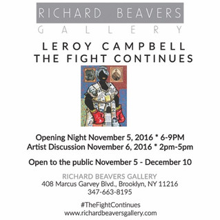 Leroy Campbell: The Fight Continues