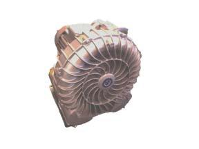 Dry Vacuum VFD Turbine Motor ( Specify 3.5HP or 2.5HP )