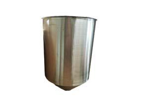 Dry Vacuum Stainless Steel Tank