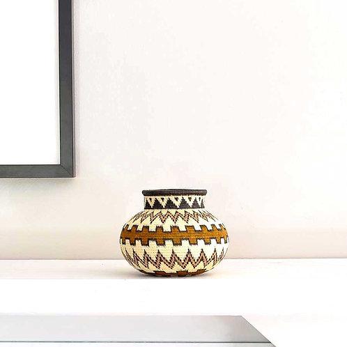 Brown Cultural Steps Wounaan Basket