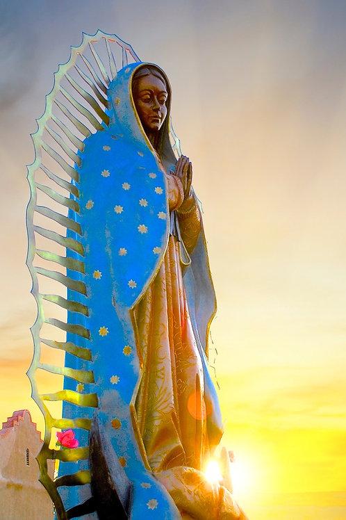 Our Lady of Guadalupe  —  Statue Santuario de Nuestra Señora de Guadalupe at