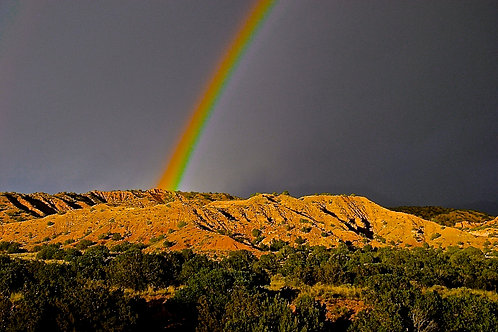 New Mexico Rainbow After the Storm