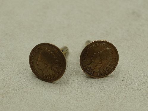 Indian Head Pennies Cufflinks by Maggie Moser