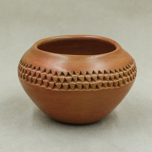Textured Three Row Pot - Possibly Pavatea