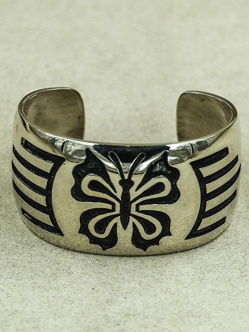 Sterling Silver Butterfly Cuff by Andersen & Berna Koinva