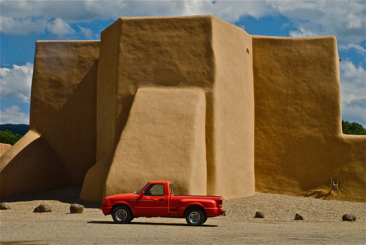 red truck_church