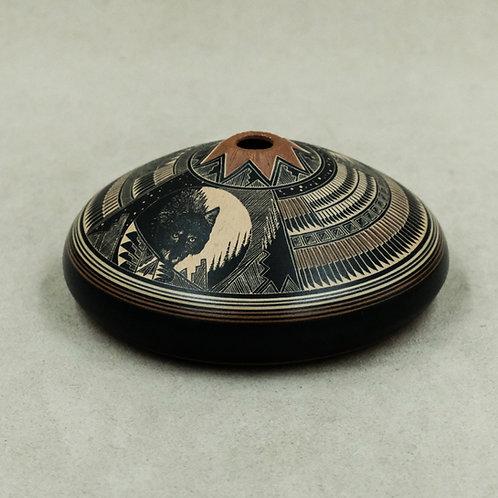 Sgrafitto Pot by Bob Lansing, 1999
