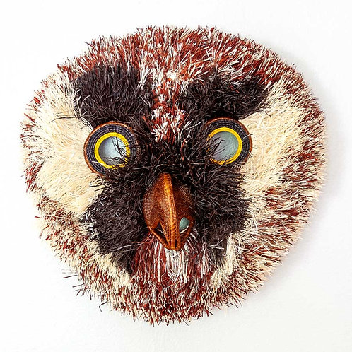 Brown Beaked Spotted Owl Mask
