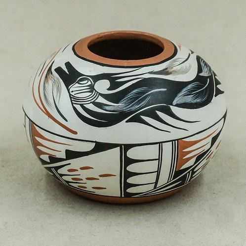 Jemez Vase by Vangie Tafoya, 1978