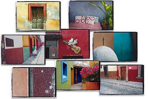 Boxed Set of 16 MEXICO Greeting Cards