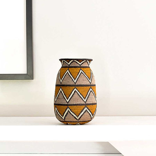Copper Triangle Wounaan Basket