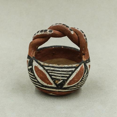 Isleta Pueblo Pot by Unknown Artist, 1984