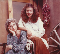 Amy Irving and Priscilla Pointer