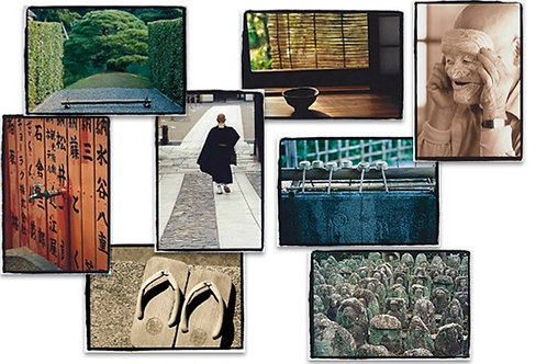 Boxed set of 16 JAPAN Greeting Cards