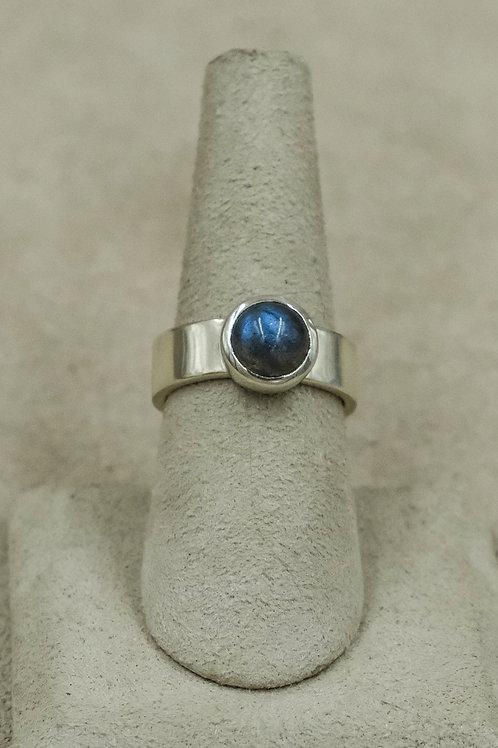 Labradorite and Sterling Silver 7x Ring by John Paul Rangel