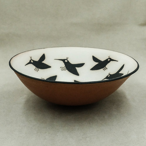 Mimbres Style Flying Insects Bowl