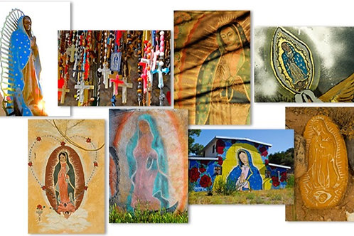 Boxed Set of 8 OUR LADY OF GUADALUPE Greeting Cards