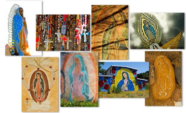 Boxed Set of 16 OUR LADY OF GUADALUPE Greeting Cards