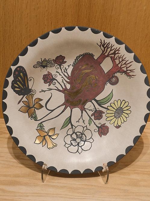 Collaborative Heart Plate by Jonathan Loretto & Valerie Rangel