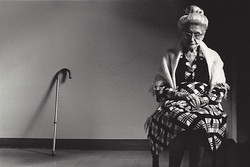 woman with cane-1