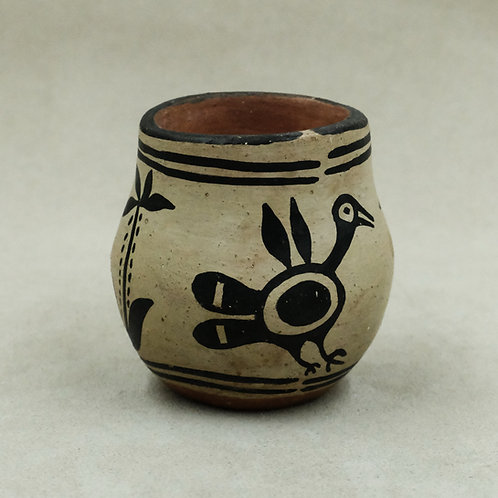 Small Santo Domingo Style Vase by Unknown Artist