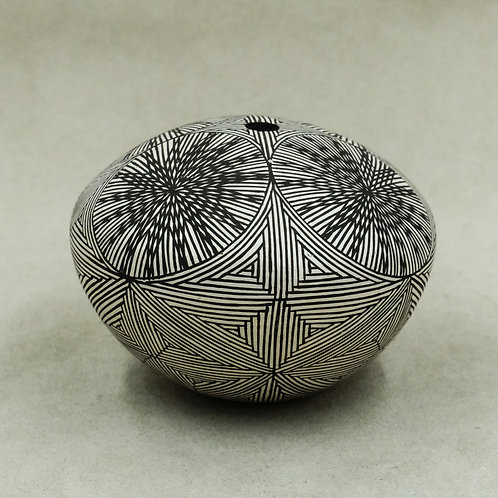 Medium Acoma Seed Pot by Carrie C Charlie