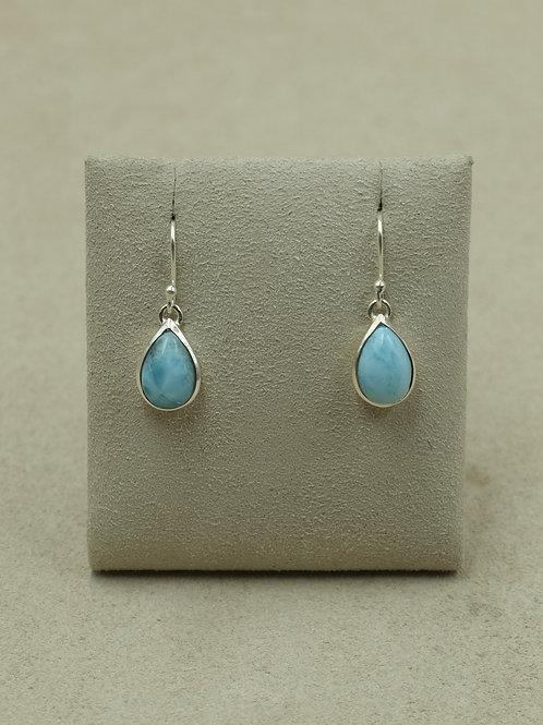 Sterling Silver Larimer Teardrop Earrings by Sanchi and Filia