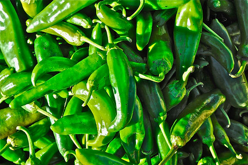 Green Chile: New Mexico's State Vegetable: Santa Fe Farmers' Market