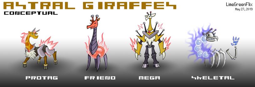 Astral Giraffes