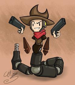 Cowboy/Snake/Machine Hybrid