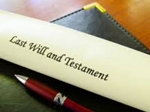 Simple Last Will & Testament for single individual
