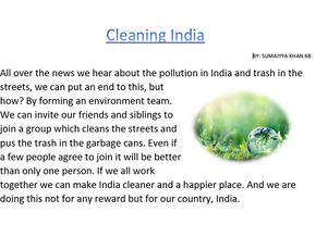 Cleaning India