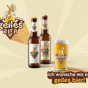 Geiles Bier