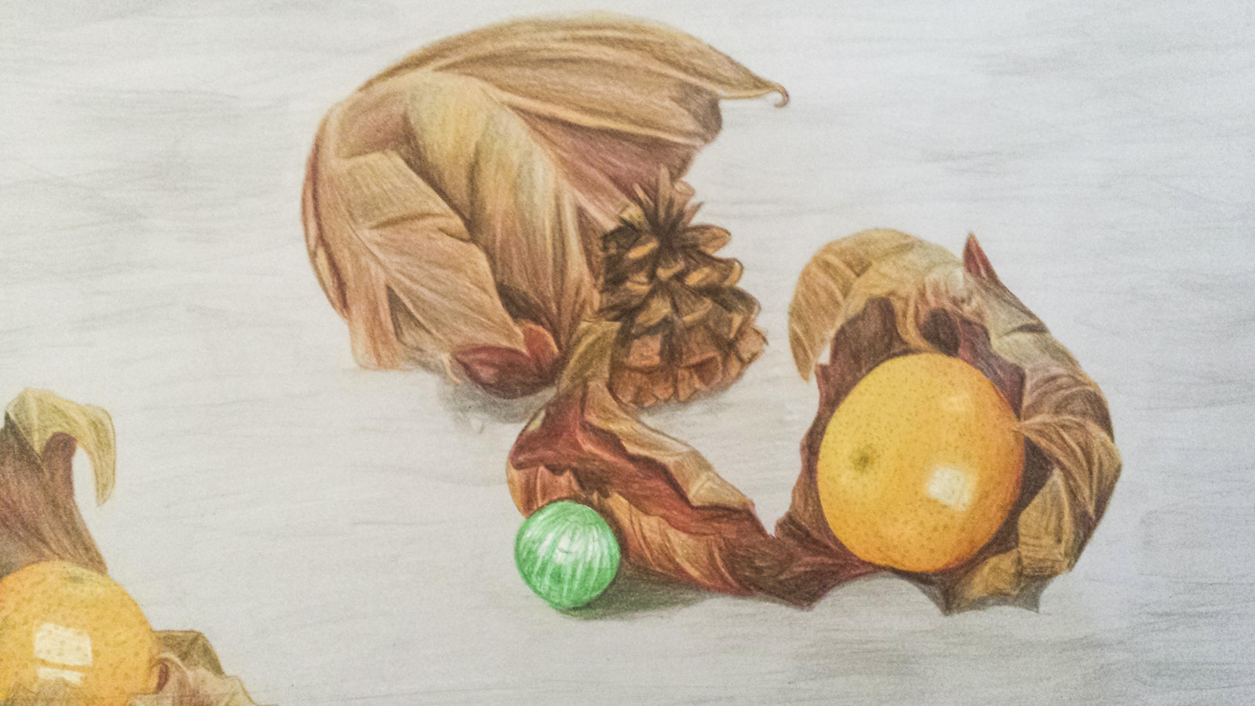 Blätter_und_Mandarinen