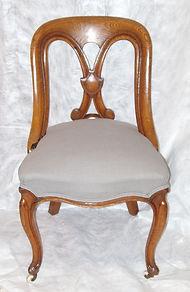 English oak chairs
