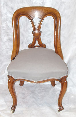 English oak chairs