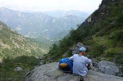 Am langen Abstieg nach Palagnedra