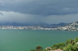 Gewitter über Lugano