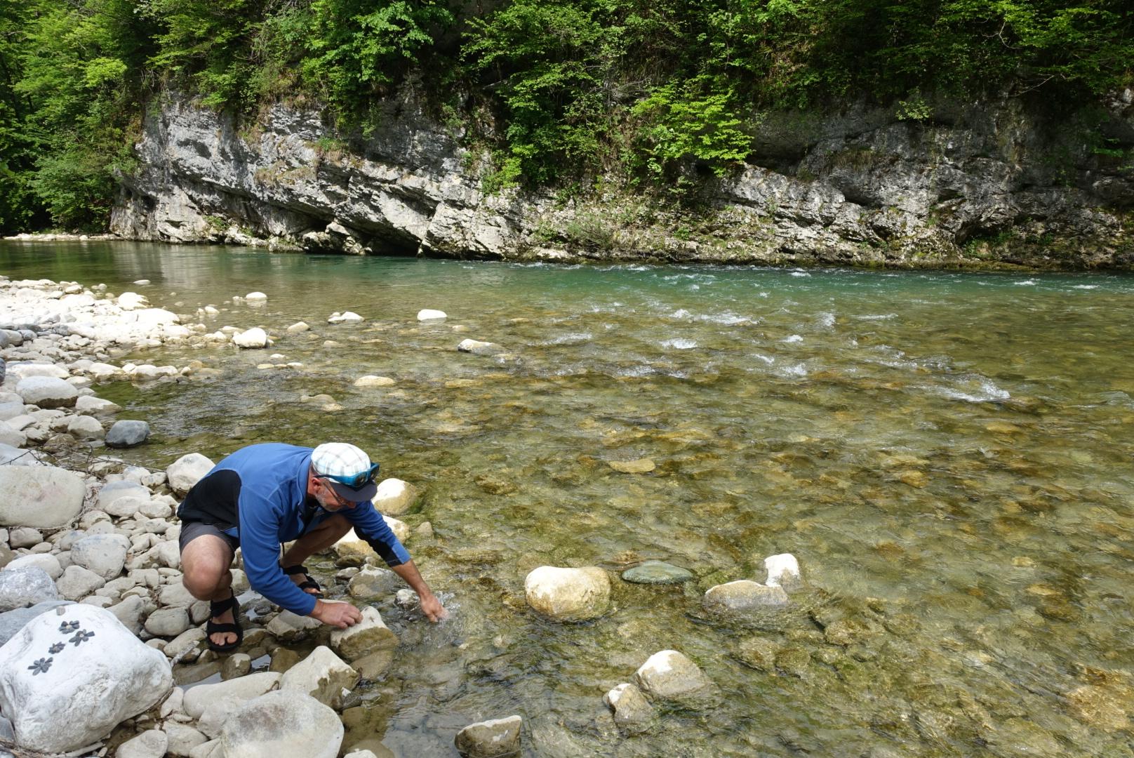 Am Fluss Cheran
