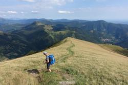 Abstieg ins Muggiotal
