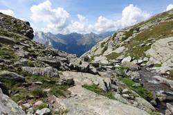 Blick ins Val Giacomo