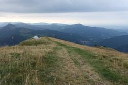 Wir campieren am Monte Generoso