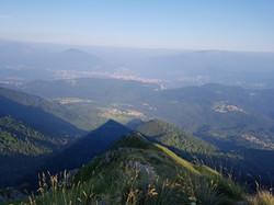 Abendstimmung auf dem Monte Lema