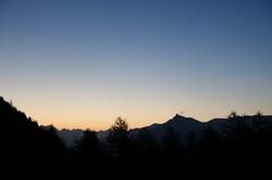 Auf dem Col de la Forclaz