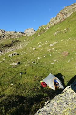 Camping unterhalb Scatta Minnoia
