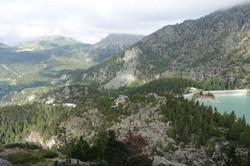 Blick zurück zum Rifugio Zoia