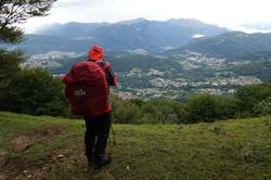 Gewitter am Monte Bre